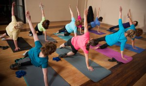 Pilates Class with L A R Physical Therapy