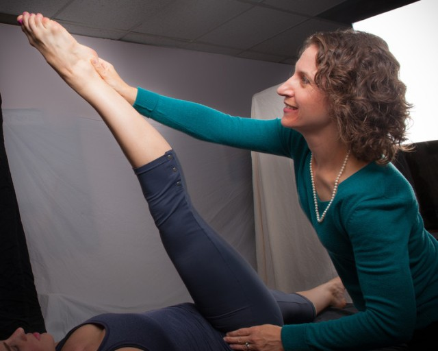 Leigh hamstring stretch