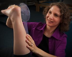 Leigh ankle flexion
