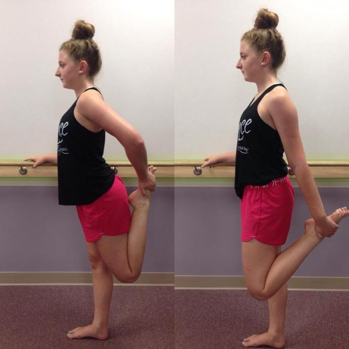 September is here and we're calling it Stretching September! Over the month we will be showing the incorrect vs. the correct way to stretch different muscles. Here is one of our favorite clients demonstrating the incorrect and correct way to stretch the quadriceps muscle. The picture on the left shows her arching her back. The picture on the right shows her tucking her tailbone to lengthen the front of her hip and thigh.  You want to feel this stretch in the front of your leg in the quadriceps muscle. Let us know any stretches you want to see! #larphysicaltherapy #marylandpt #movemore #stretchingseptember #stretchmore #rightvswrong #goodform